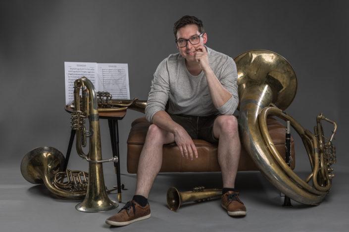 Markus Nimmervoll und Instrumente
