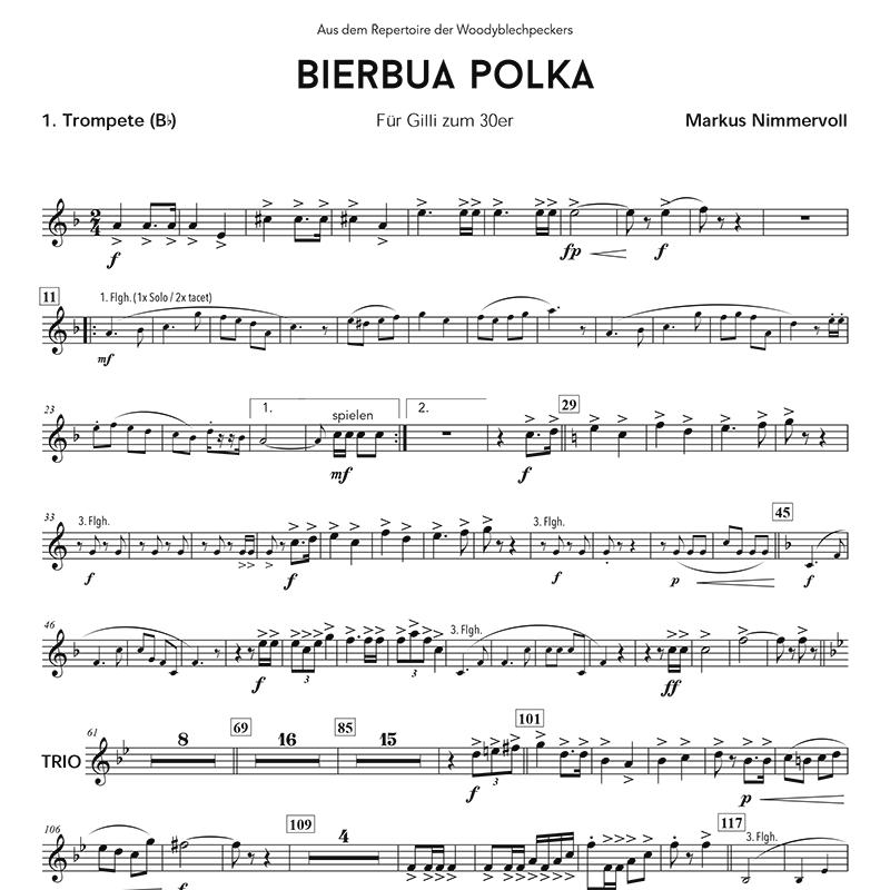 Grenade Flute Sheet Music With Lyrics: Noten Für Blasmusik